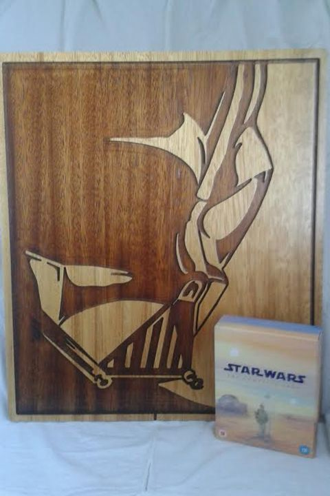 Star Wars Darth Vader - Timber art
