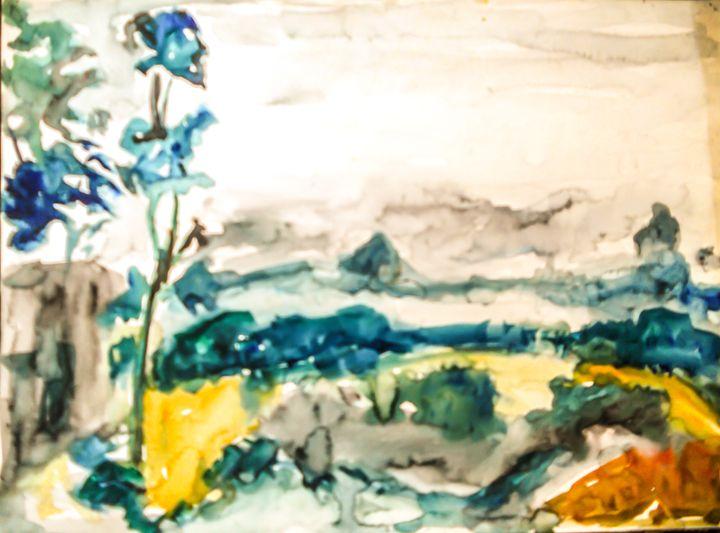 The Far View - Gagan's Art
