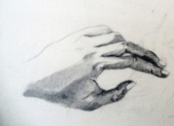 The Thinking Hand - Gagan's Art