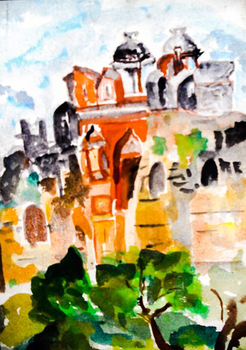 Mystic Palace - Gagan's Art