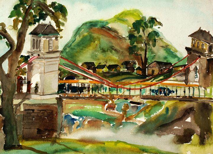 Chamba Bridge - Gagan's Art