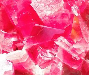 Rhodochrosite in Pink