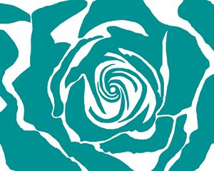 The Rose - In Teal