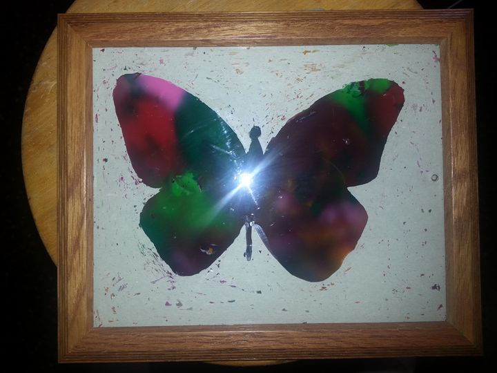 Oh pretty butterfly! - Galmy