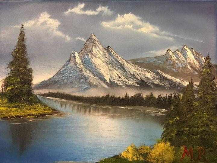 Mountain landscape - Matthew Belanger