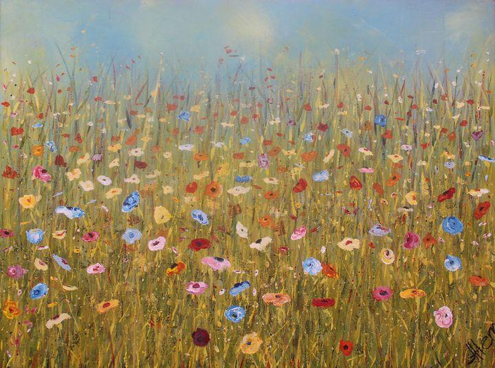 Field o' Flowers - Janet Herr of BlueButternut