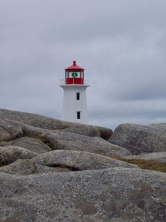 The Rocks and the Lighthouse - RMB Photography