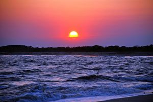 Colorful Cape May Sunset