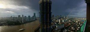 Storms and Rainbows Over Bangkok