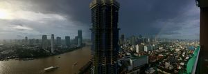 Storms and Rainbows Over Bangkok - RMB Photography