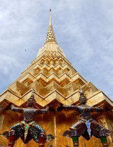 Golden Spire Royal Palace Bangkok