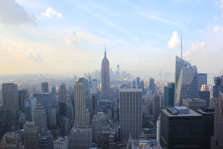 New York from the top - Me Myself and I