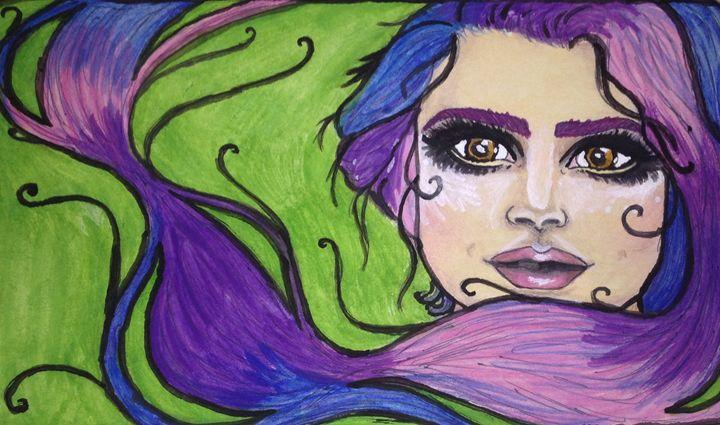 Galaxy hair - Helen Earley