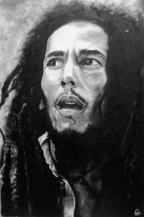 Bob Marley - ART DAY EVERYDAY by Gerald Malate