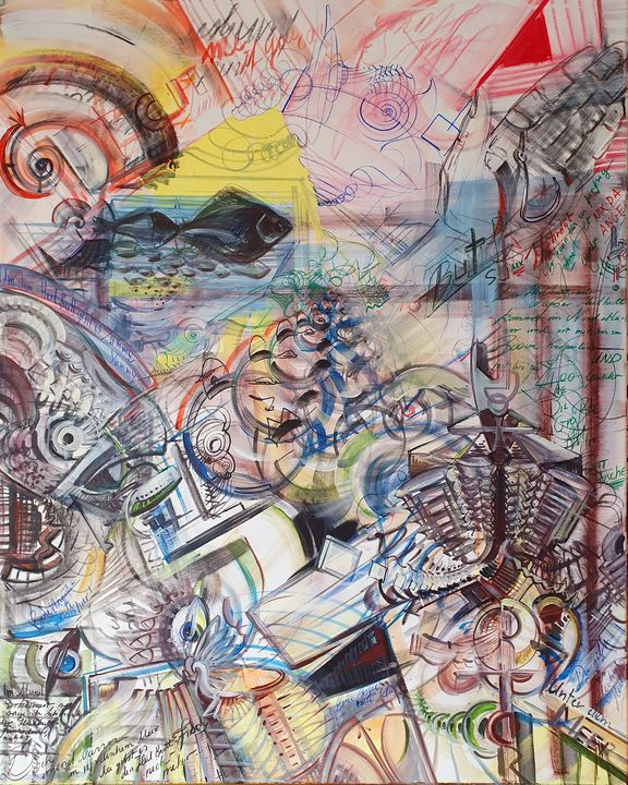 Halibut - Eric Hubbes - Fantastic Worlds