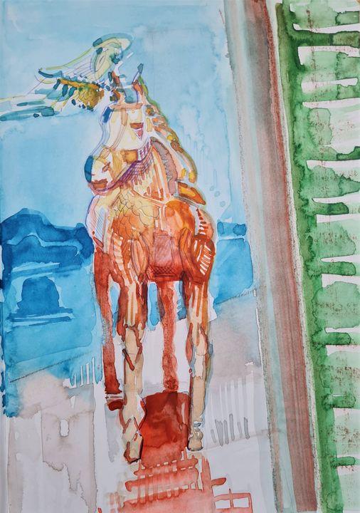 Rainbowhorse - Eric Hubbes - Fantastic Worlds