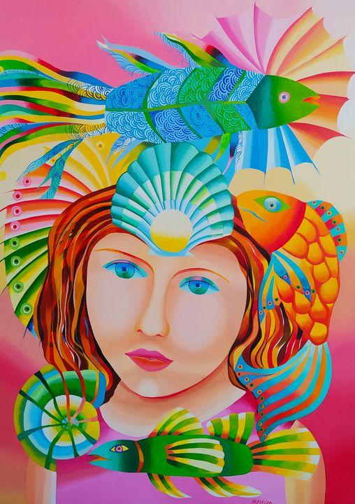 The fisherwoman - MairimPerezRoca