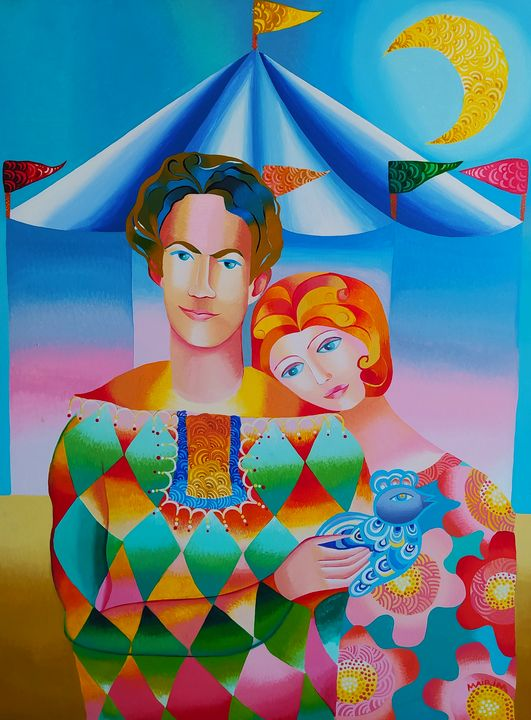 Lover in the circus - MairimPerezRoca