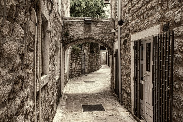 Ancient Streets - Archer Photography