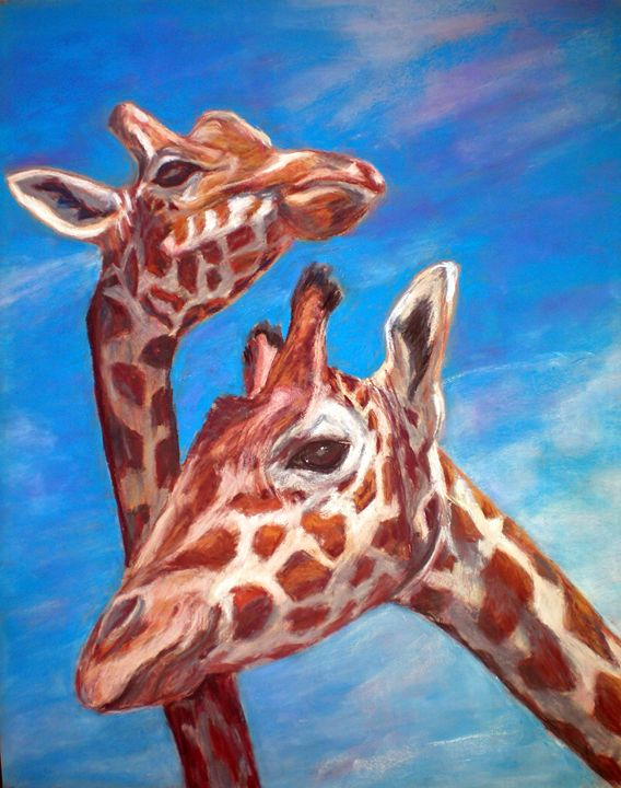 Feed Me - Cathy E Geib Art