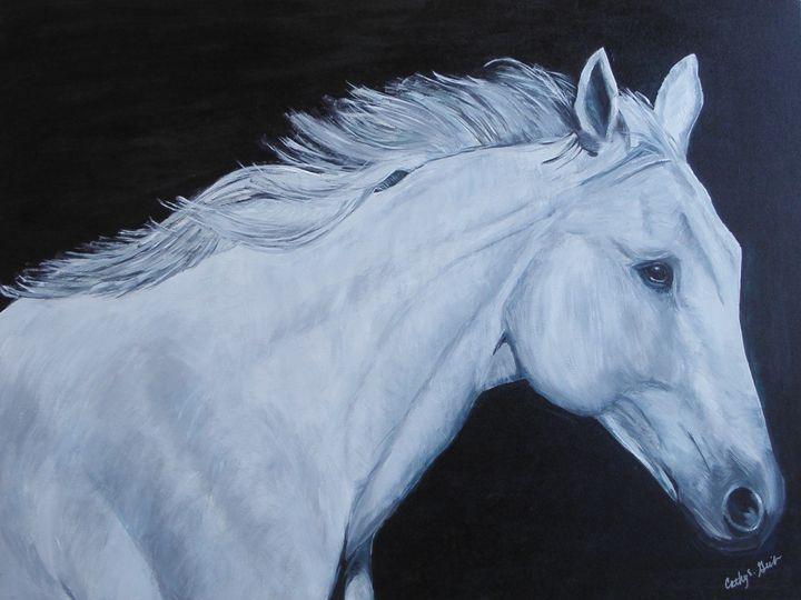 White Lightning - Cathy E Geib Art