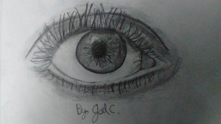 Eye of iris - Joel Castillo