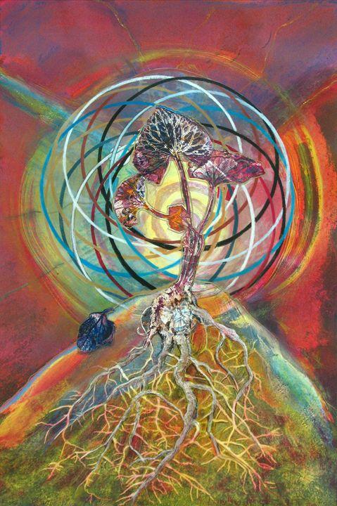 Kalachakra Matrix - Sharmon Davidson Art