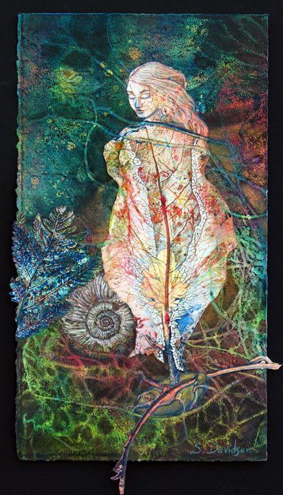 Seedling - Sharmon Davidson Art