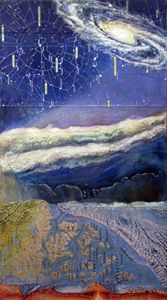 As Above, So Below - Sharmon Davidson Art