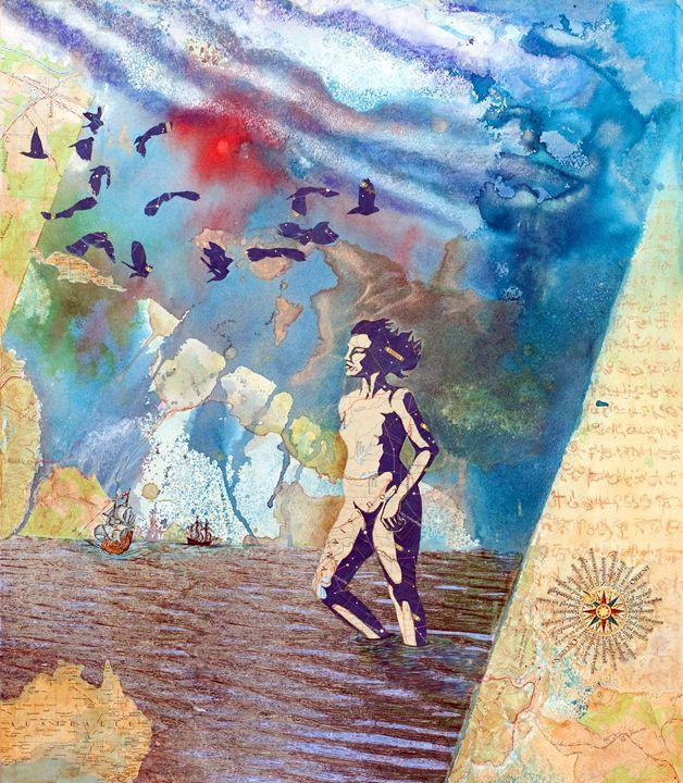 As the Crow Flies - Sharmon Davidson Art