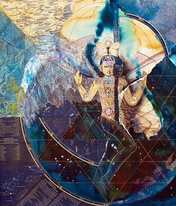 Dimensional Shift - Sharmon Davidson Art