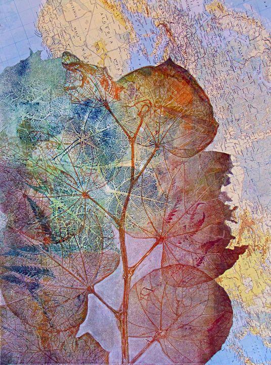 Analogy I - Sharmon Davidson Art