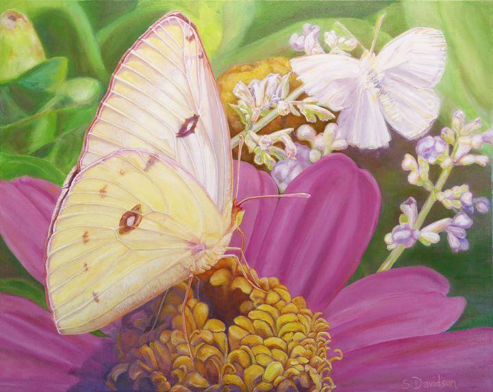 Butterfly Summer - Sharmon Davidson Art