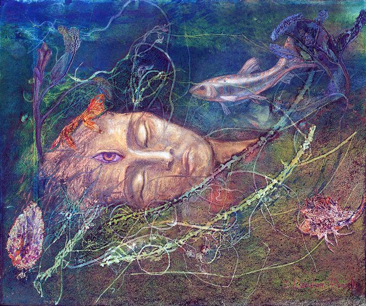 Deep in the Sea of Dreams - Sharmon Davidson Art