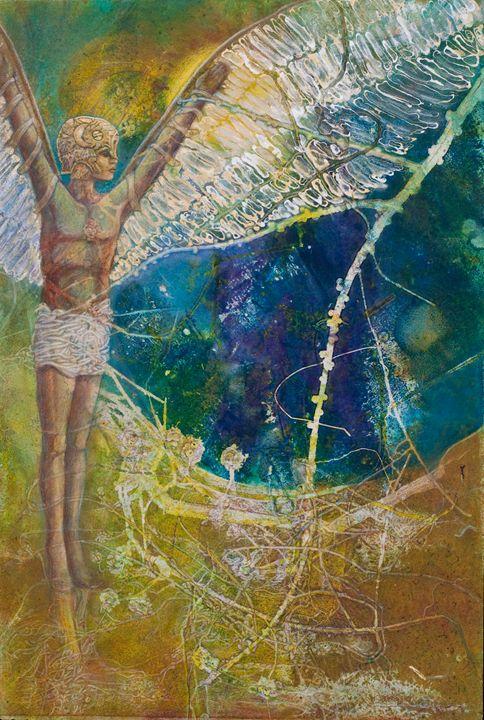 Icarus Reborn - Sharmon Davidson Art