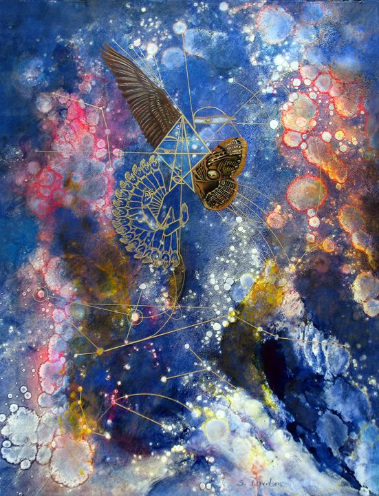 Sacred Geometry - Sharmon Davidson Art