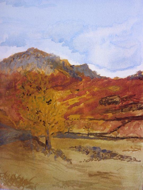 Moorland Scene - Art By Loui