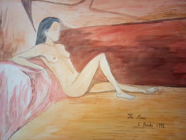 The Muse - Art By Loui