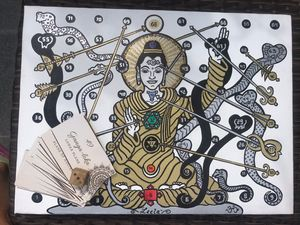 Spiritual Board Game & Yoga Artwork