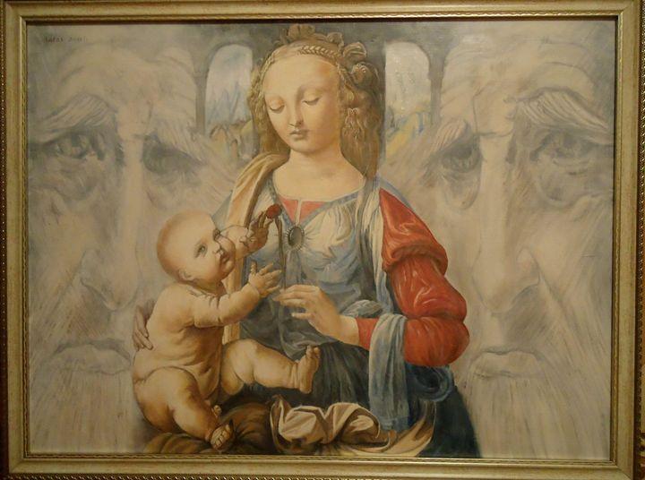 Madonna with a child - IDRAK