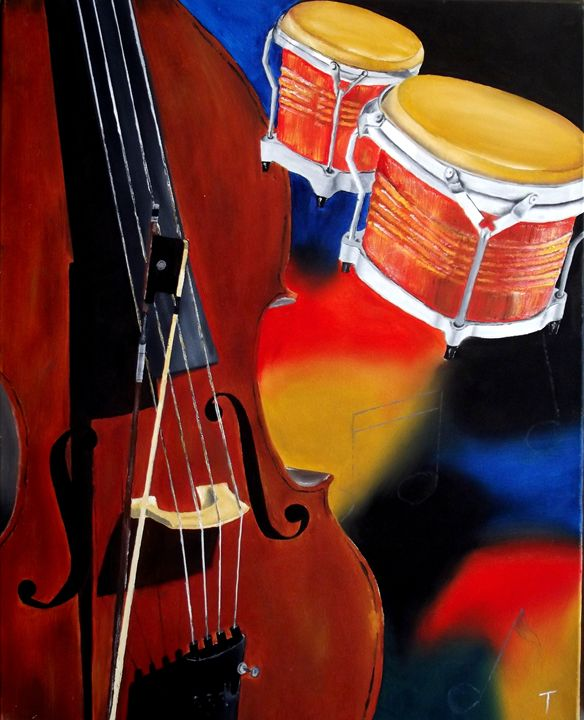 Jazz Club 2 - MyMixedMedia