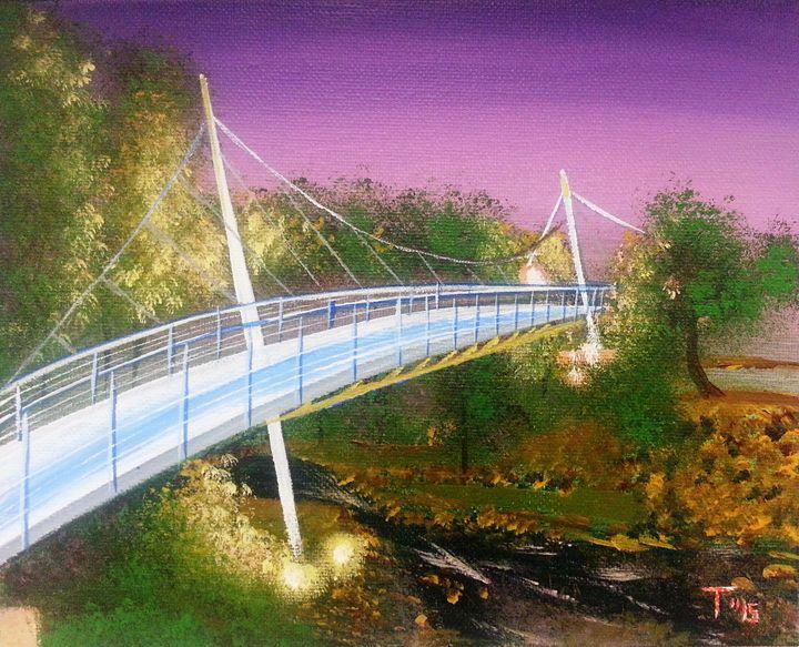 Liberty Bridge - MyMixedMedia
