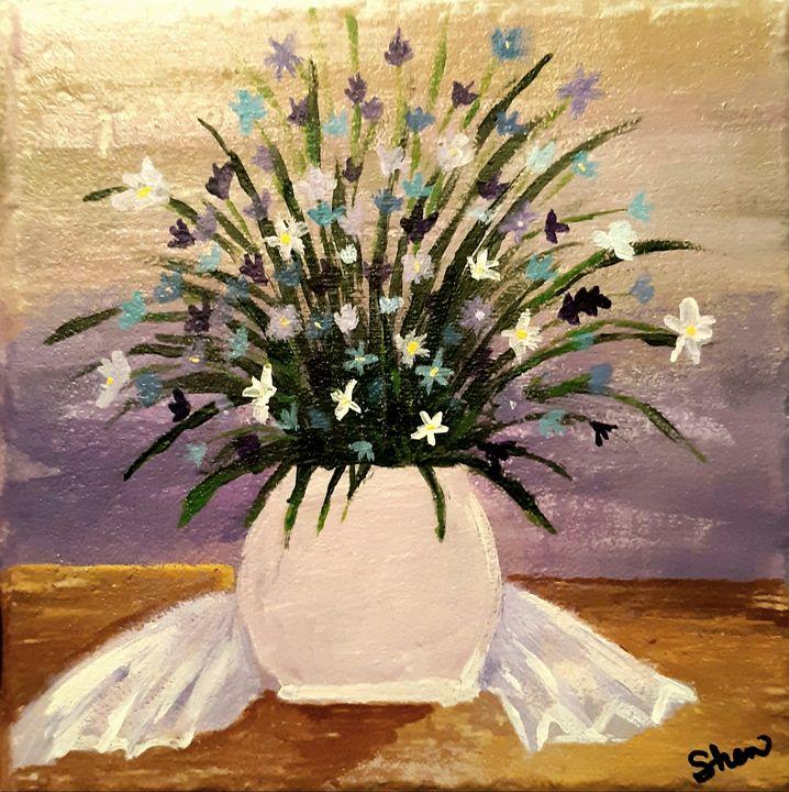 Purple flowers - Shenann
