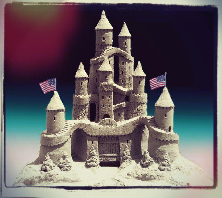 American Sand Castle - Frozen Face