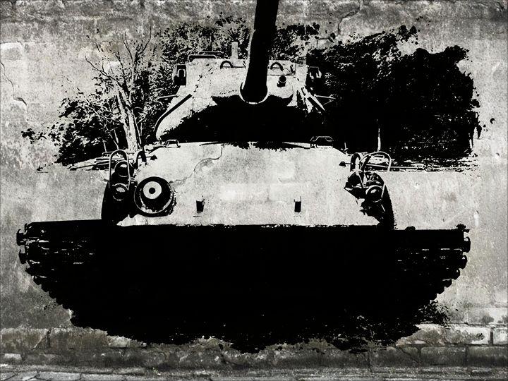 U.S. Army Tank - Frozen Face