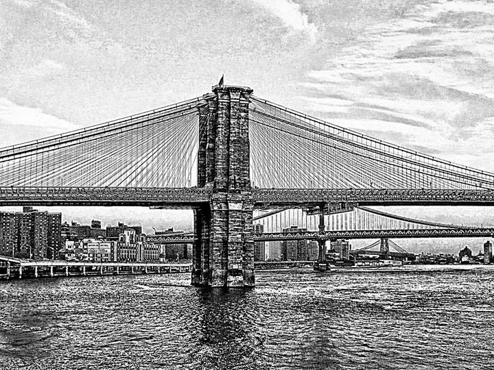 Brooklyn Bridge Ink - Frozen Face