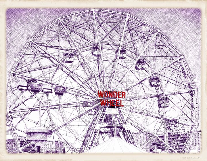 Wonder Wheel - Frozen Face