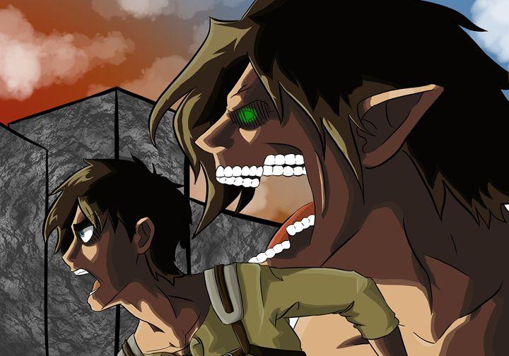 Attack on Titan - Eren Jaeger - Hamzah Ansari
