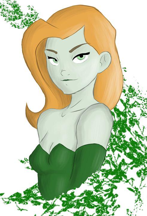 Poison Ivy Sketch - Hamzah Ansari