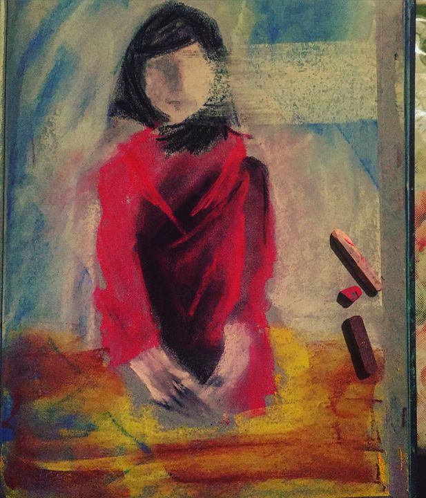 Woman in Red-Dare to dream big - Melis G.
